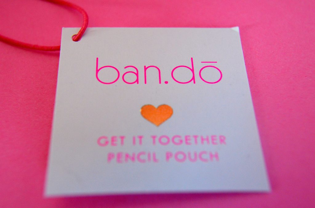 bando-logo-on-pencil-case
