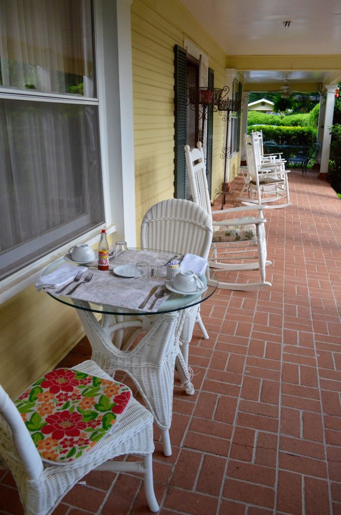 theyellowhousebreakfastonporch